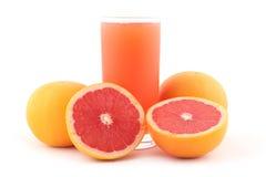 Grapefruitsaft Lizenzfreie Stockfotos