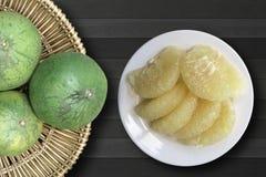 Grapefrukt den organiska nya frukten Arkivfoto