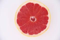 Grapefrukt isolerad för vitaminfrukt för vit bakgrund healthful läcker Sao Paulo Brazil för mat fotografering för bildbyråer