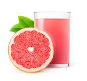 grapefrukt isolerad fruktsaft Fotografering för Bildbyråer