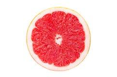 grapefrukt isolerad skivawhite Royaltyfria Foton