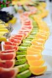 Grapefrukt, kiwi och apelsin Royaltyfria Bilder