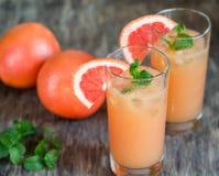 Grapefrukt och Tequila Paloma Cocktail Arkivfoto