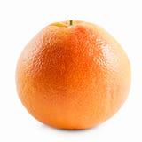 grapefrukt som isoleras på vit bakgrund royaltyfria foton