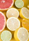 grapefruktcitron royaltyfria foton