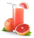 grapefruktfruktsaft Arkivbilder