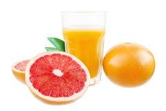 Grapefruktfruktsaft Arkivbild