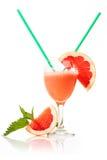 Grapefruktfruktsaft royaltyfri foto
