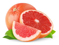 grapefruktred Arkivbilder