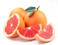 grapefruktsegment Arkivfoto