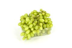 Grapes. Grape branch in plastic packaging Royalty Free Stock Images