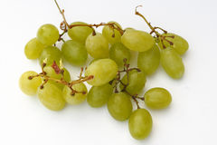 Grapes. On the white background Stock Images