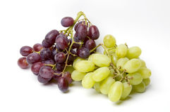 Grapes. Bunch of red black and white grapes Stock Photo