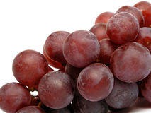 Grapes. On white Royalty Free Stock Image