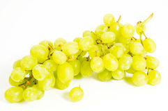 Grapes. On a white background Stock Image