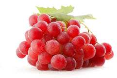 Grapes. Isolated on the white Royalty Free Stock Photos
