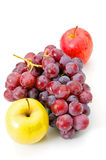 Grapes and apple Royalty Free Stock Image