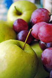 Grapes&apples Foto de Stock Royalty Free