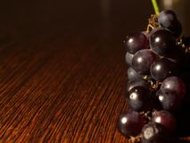 Grapes background. (lots of copy space Royalty Free Stock Photography
