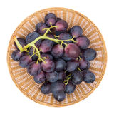 Grapes Basket Stock Photos