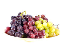 Grapes in the basket Royalty Free Stock Image