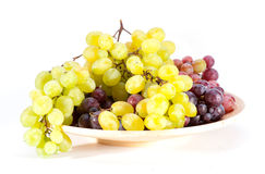 Grapes in the basket Royalty Free Stock Photo