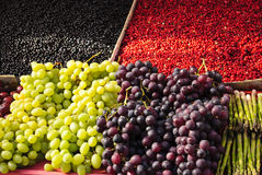 Grapes and Berries Stock Photos