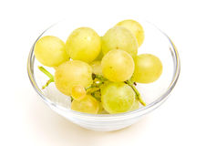 Grapes on bowl Royalty Free Stock Photography