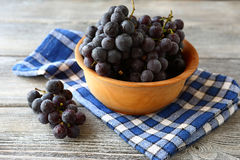 Grapes in a bowl Royalty Free Stock Images