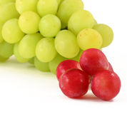 Grapes close up Royalty Free Stock Images