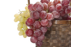 Grapes close up royalty free stock photos