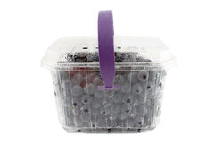 Grapes in container Royalty Free Stock Image