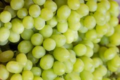 Grapes on the counter, close-up royalty free stock images