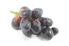 Grapes Dark, Organic and Fresh royalty free stock image