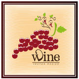 Grapes design Stock Photo
