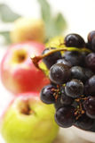 Grapes and fresh fruit Royalty Free Stock Images