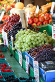 Grapes and Fresh Fruit Royalty Free Stock Photo