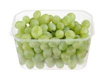 Grapes. Fresh green grapes in grape bowl Royalty Free Stock Photos