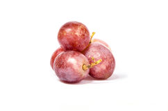 Grapes fruit sweet. White background stock photos