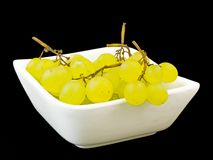 Grapes isolated on black Royalty Free Stock Images