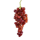 Grapes isolated on over white Royalty Free Stock Photo