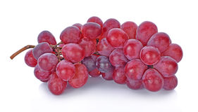 Grapes isolated on over white background. Royalty Free Stock Photography