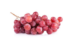 Grapes isolated on over white background Stock Images