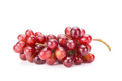 grapes isolated on over white background Stock Photos