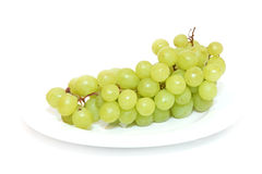 Grapes isolated on white Royalty Free Stock Photos