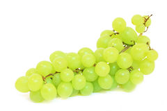 Grapes isolated on white. The close-up of tasty natural  and fresh grapes. isolated on white Royalty Free Stock Photography