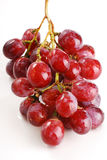 Grapes isolated on white. Background Stock Photo