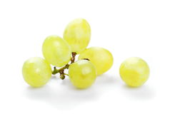 Grapes isolated on white Royalty Free Stock Images