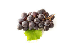 Grapes isolated on white Stock Photo