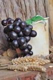Grapes in a jar Royalty Free Stock Photos